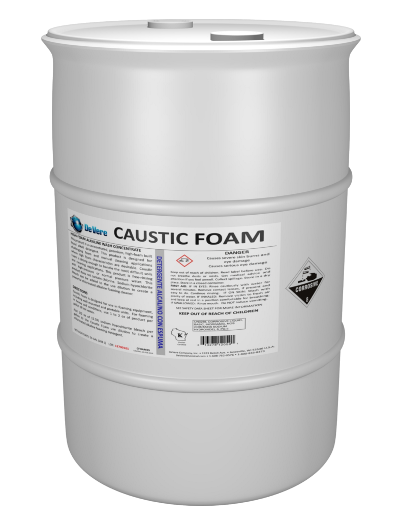 Caustic Foam