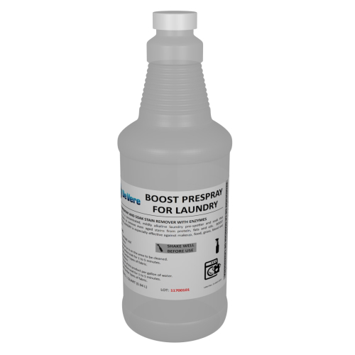 Boost Prespray for Laundry, quart size bottle