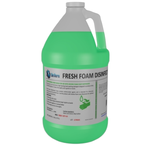 fresh foam disinfectant soap
